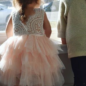 Other - Lace and Tulle dress